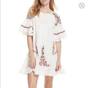 Free People XS Pavlo Ivory Dress